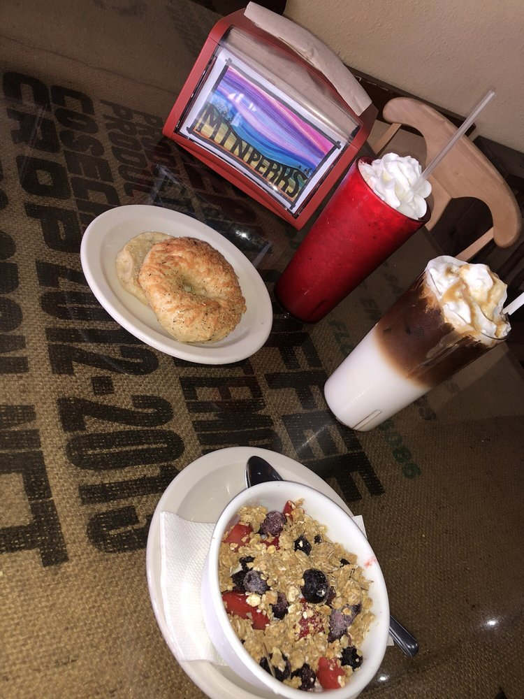 Mountain Perks Espresso Bar & Cafe: 9 Depot St, Bryson City, NC
