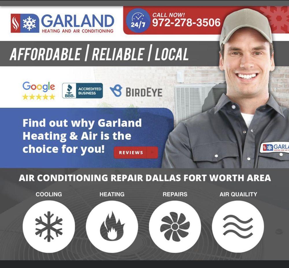 Garland Heating & Air Conditioning: 2113 S Garland Ave, Garland, TX