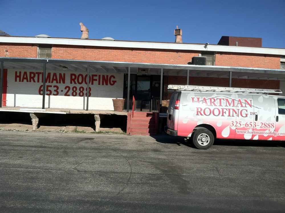 Hartman Roofing: 96 W 4th St, San Angelo, TX