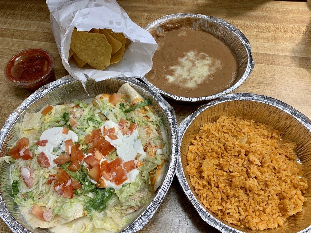 Food from Casa Guerrero