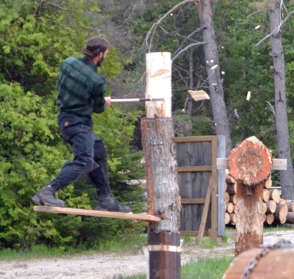Jack Pine Lumberjack Shows: 10510 W US Hwy 23, Mackinaw City, MI