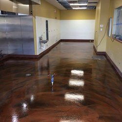 photo of ithaca flooring solutions ithaca ny united states metallic copper industrial - Kitchen Floor Solutions