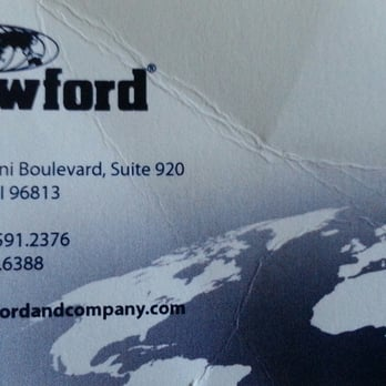 Crawford company 11 reviews insurance 711 kapiolani blvd photo of crawford company honolulu hi united states business card reheart Gallery