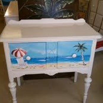 Custom Hand Painted Furniture Furniture Stores 55 11th St N Beaches Jacksonville Beach Fl