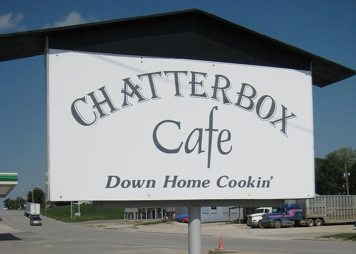 Chatterbox Cafe: 120 N Division St, Audubon, IA