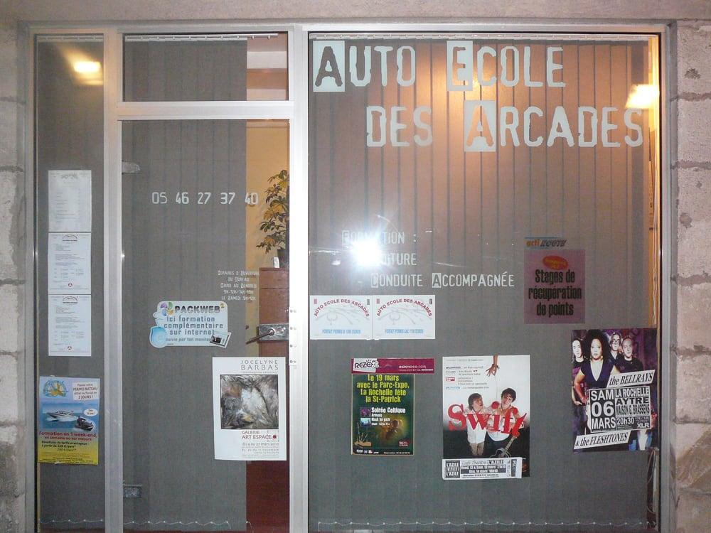 auto ecole des arcades driving schools 20 rue albert 1er la rochelle charente maritime. Black Bedroom Furniture Sets. Home Design Ideas
