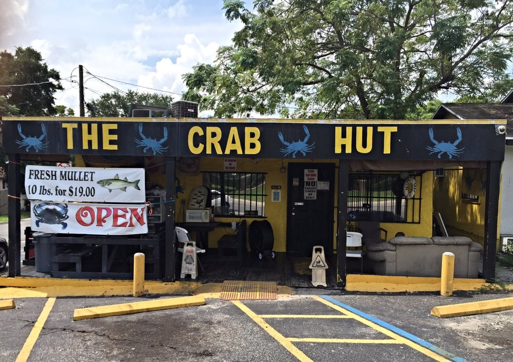 The Crab Hut: 3824 N 51st St, Tampa, FL