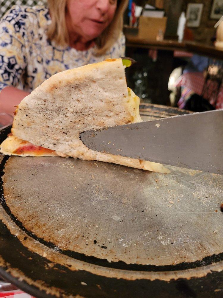 Food from The Italian Underground Restaurant