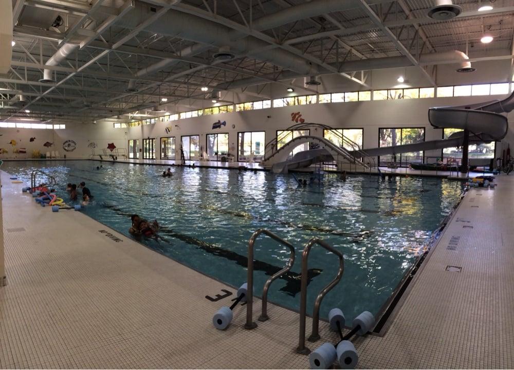 Brooklyn Center Community Center Pool & Waterslide: 6301 Shingle Creek Pkwy, Minneapolis, MN