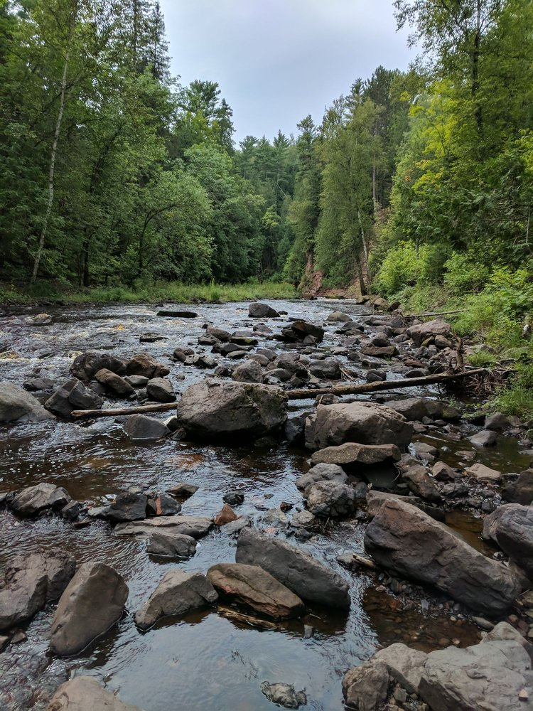 Pattison State Park: 6294 S Hwy 35, Superior, WI