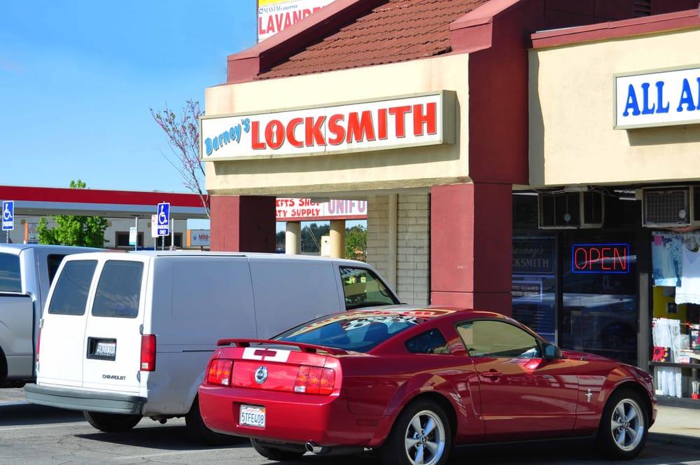 Barney's Locksmith Service: 605 E Arrow Hwy, Azusa, CA
