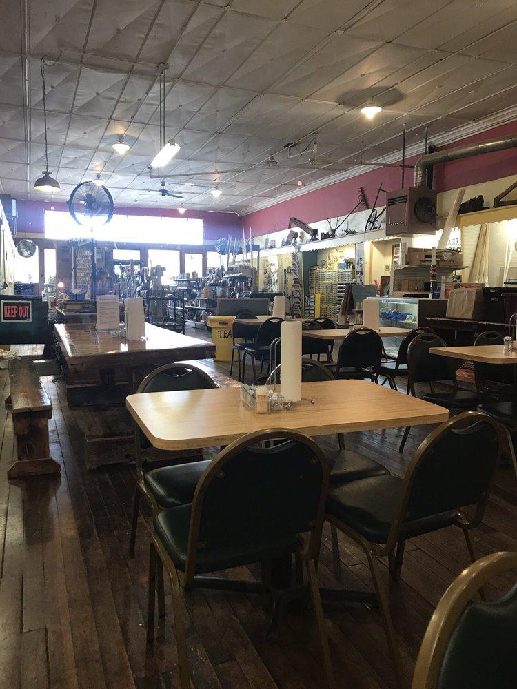 Friendship Hardware & BBQ Sandwich Shop: 10 W Main St, Friendship, NY
