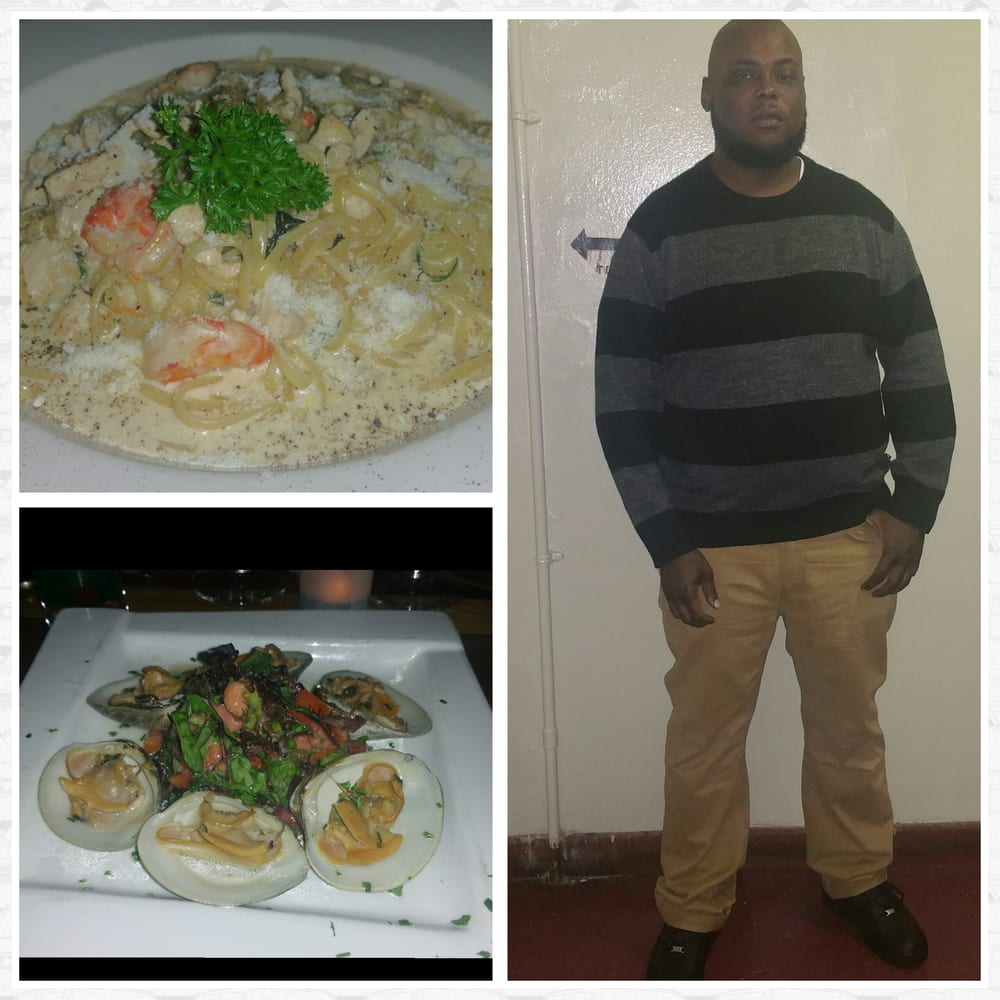 Chicken shrimp alfredo clams cacino w o bacon very good - Olive garden eastpointe mi 48021 ...