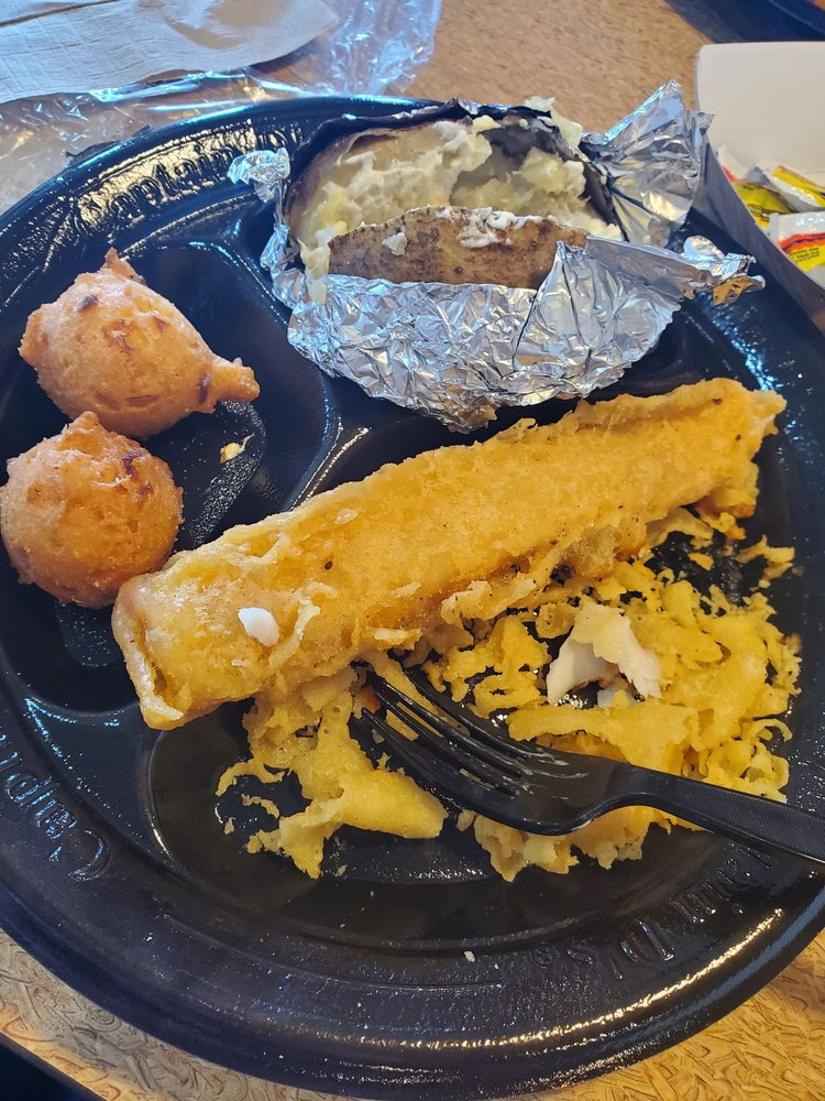 Food from Captain D's