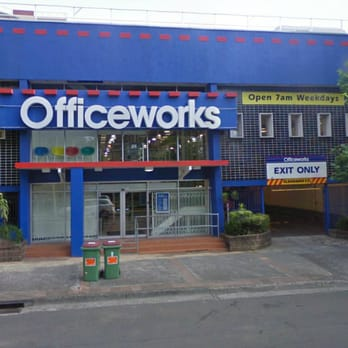 Officeworks  Office Equipment  1426 Ebley St Bondi New South