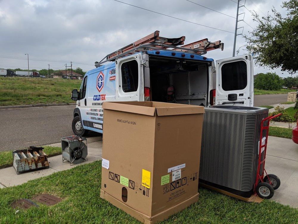 Coldtek Air Conditioning and Heating: 5005 Los Arboles, Donna, TX