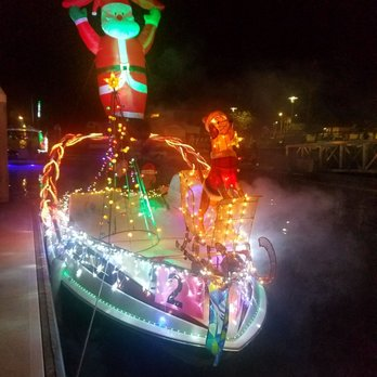 photo of newport beach christmas boat parade newport beach ca united states