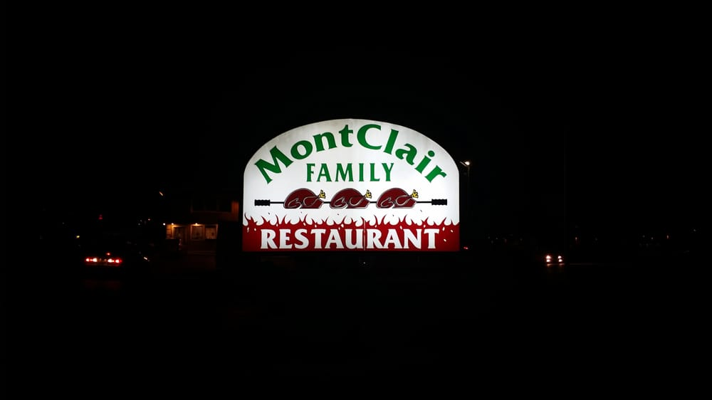 Montclair Family Restaurant Menu