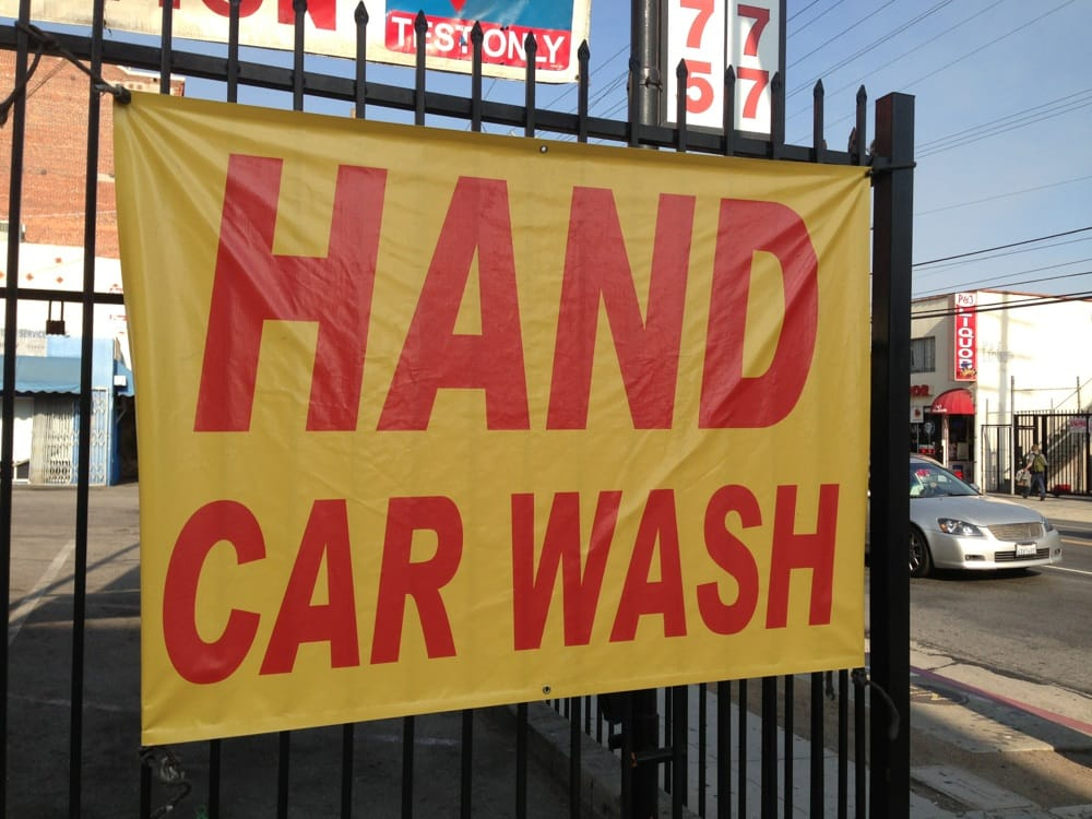 Car Wash Near Hollywood Ca