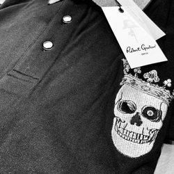 18b26ac8 Photo of Robert Graham - Bellevue, WA, United States. Amazing skull polo  shirts