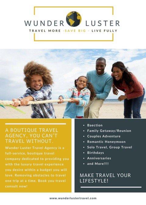 Wunder Luster Travel Agency
