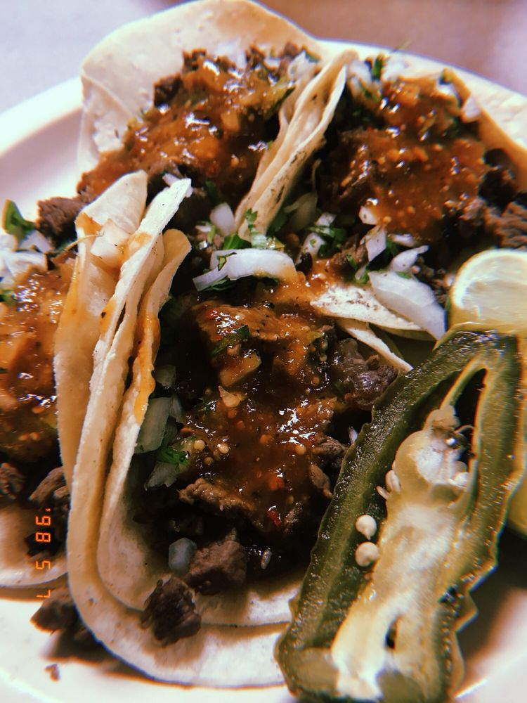 Food from Tacos Don Francisco