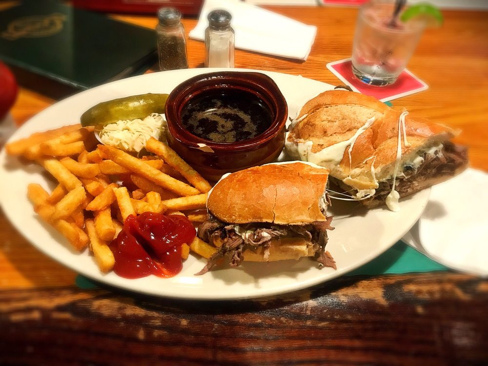 Photo of Hailey's Harp and Pub - Metuchen, NJ, United States. French Dip