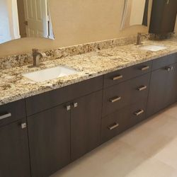 Sunshine Alliance Cabinets Millwork Photos Cabinetry - Bathroom vanities delray beach fl