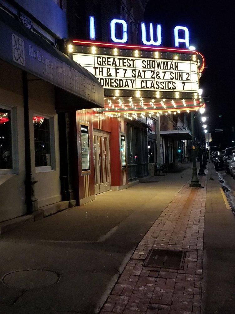 Iowa Theatre: 121 N 1st St, Winterset, IA