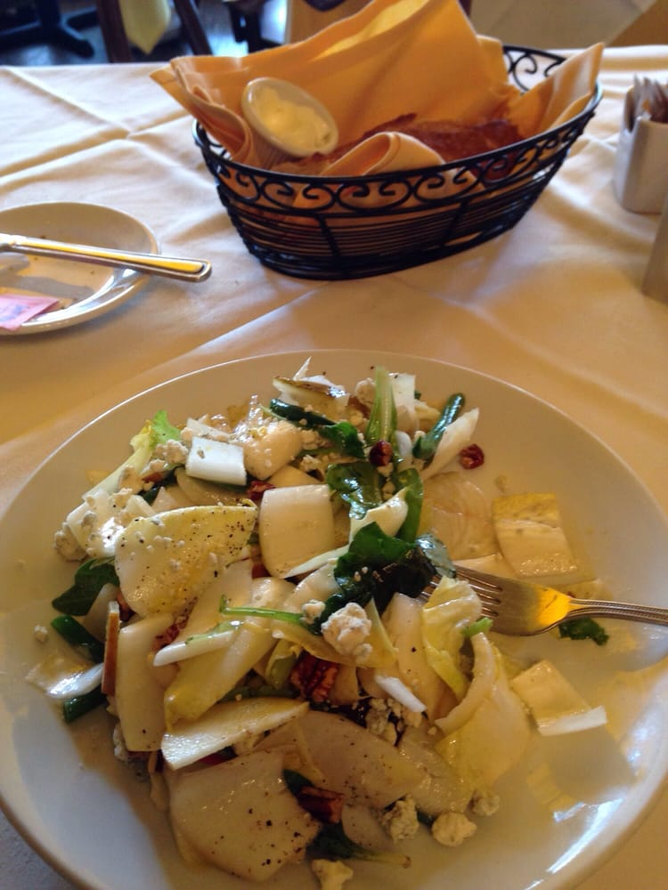 Endive salad so delicate and fresh yelp for A la maison restaurant ardmore pa