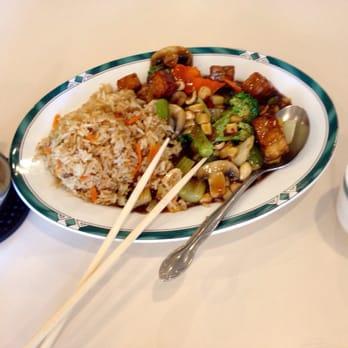 Photo Of Lotus Garden Vegetarian Restaurant Eugene Or United States Hot And