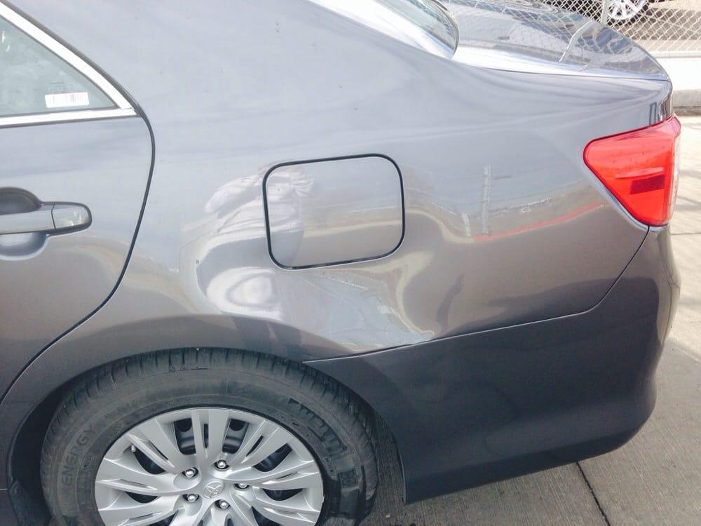 Just One Of The Dents.