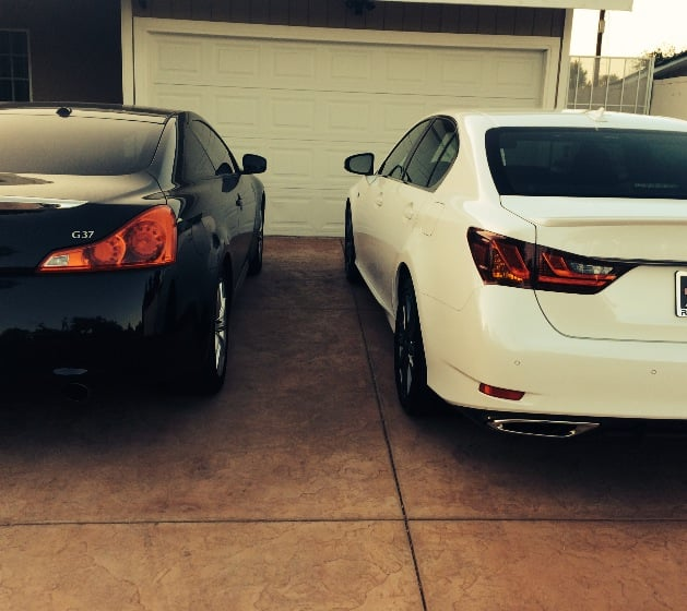 Lexus Gs Lease: Infiniti G37 Coupe And Lexus GS 350 F Sport Both From