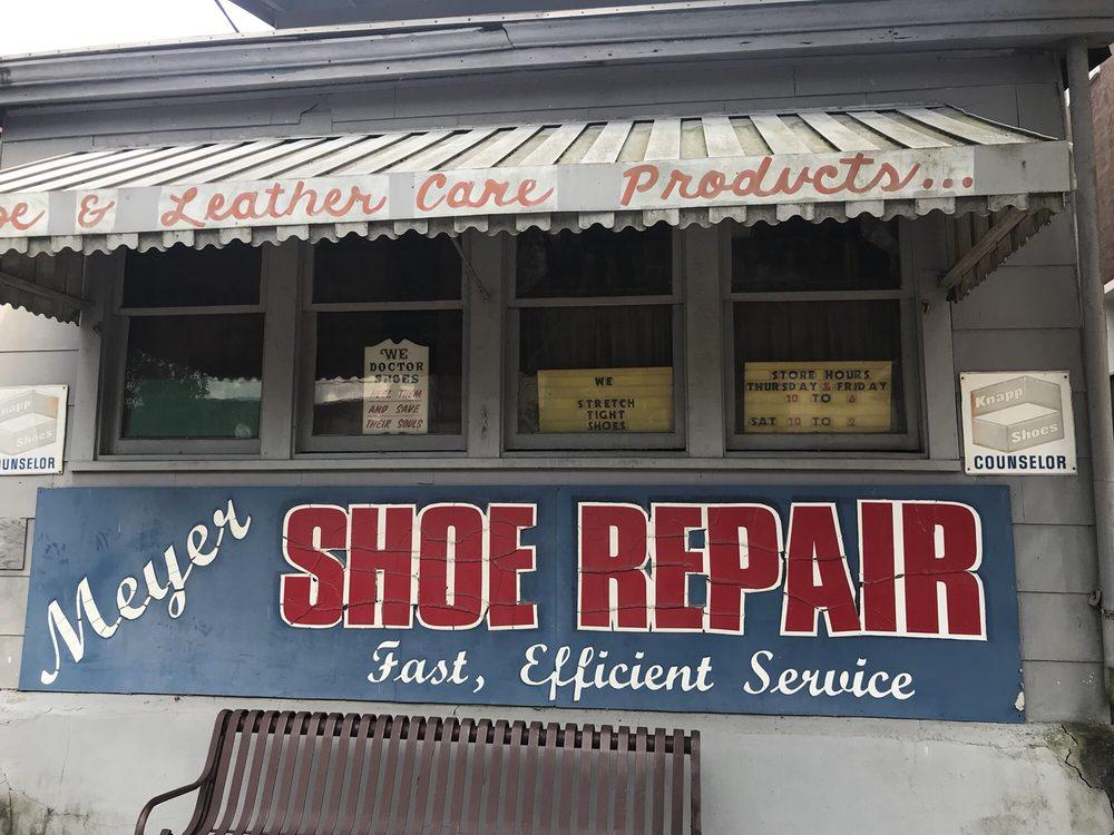Meyer Shoe Repair: 116 Main St, Milford, OH
