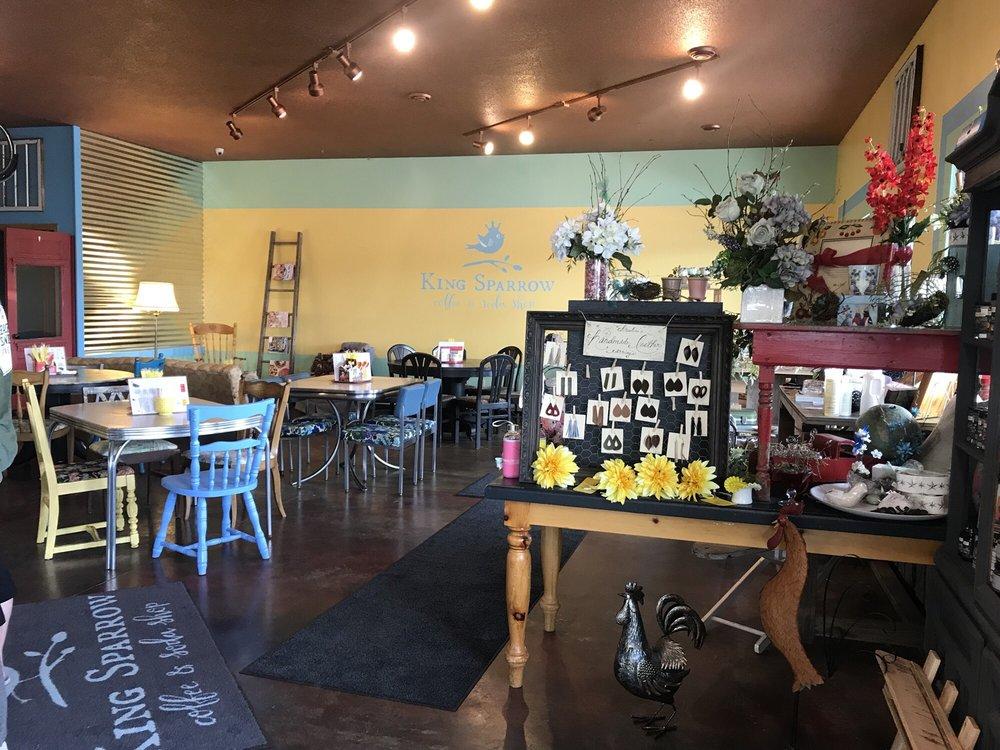 King Sparrow Coffee & Soda Shop: 1000 5th St SE, Milaca, MN