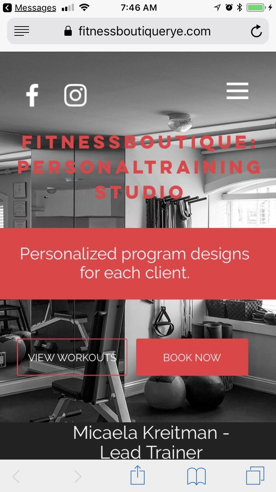 Fitness Boutique Rye