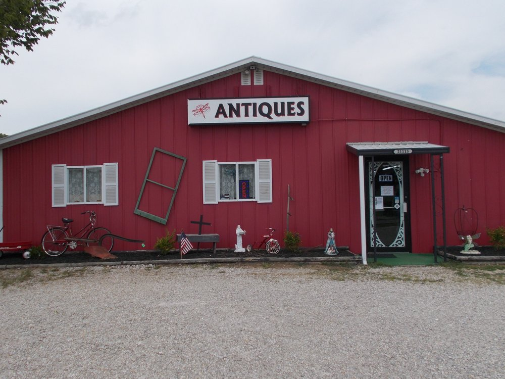 Dragonfly Antiques: 21115 NW Service Rd, Warrenton, MO