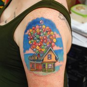 b908eb0a116bf Dr Facilier Princess Photo of David Meek Tattoos - Tucson, AZ, United  States ...