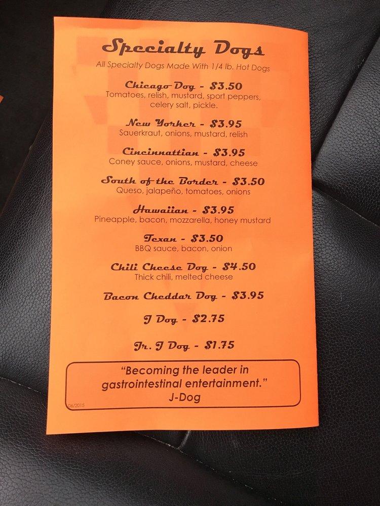 Famous J's Drive Thru: 623 Market St, Mount Carmel, IL
