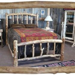 Medicine Wolf Log Furniture Company Furniture Shops 2645 S Santa Fe Dr Southwest Denver
