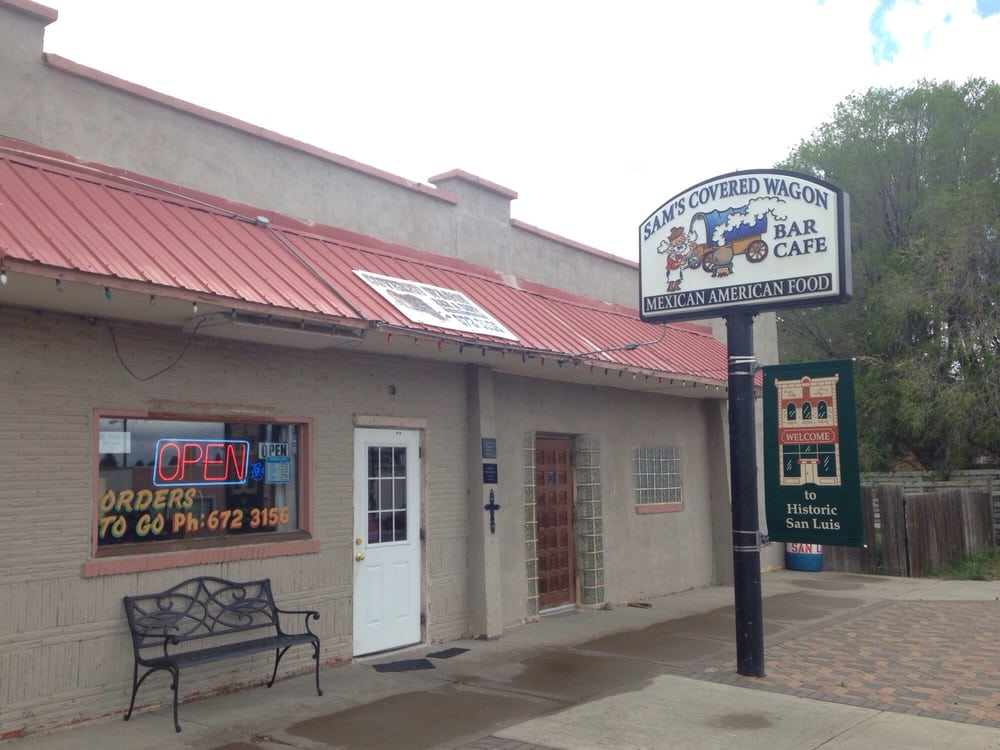 Covered Wagon: 126 Main St, San Luis, CO