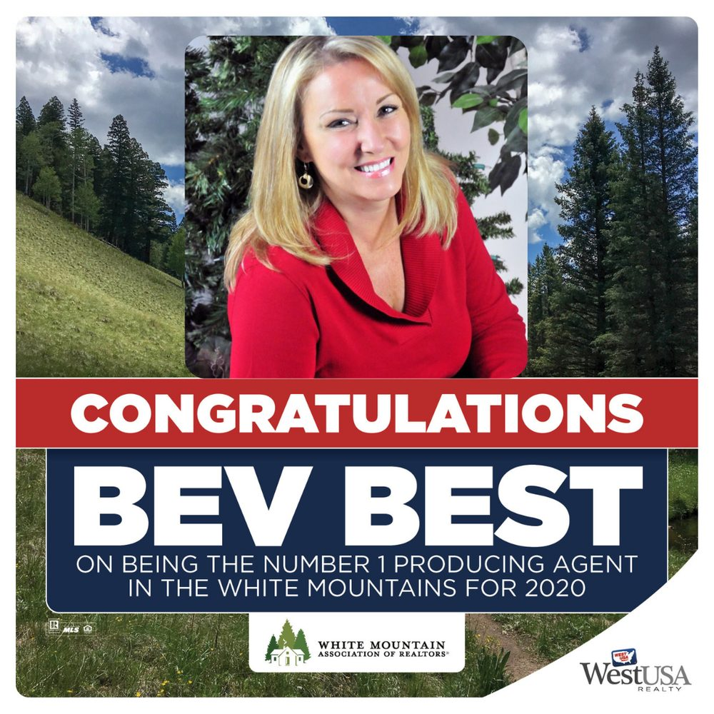 Bev Best - West USA Real Estate Agent: 2482 E White Mountain Blvd, Pinetop, AZ