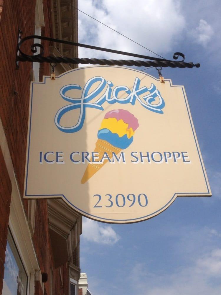Licks Ice Cream Shoppe: 23090 E Main St, Armada, MI