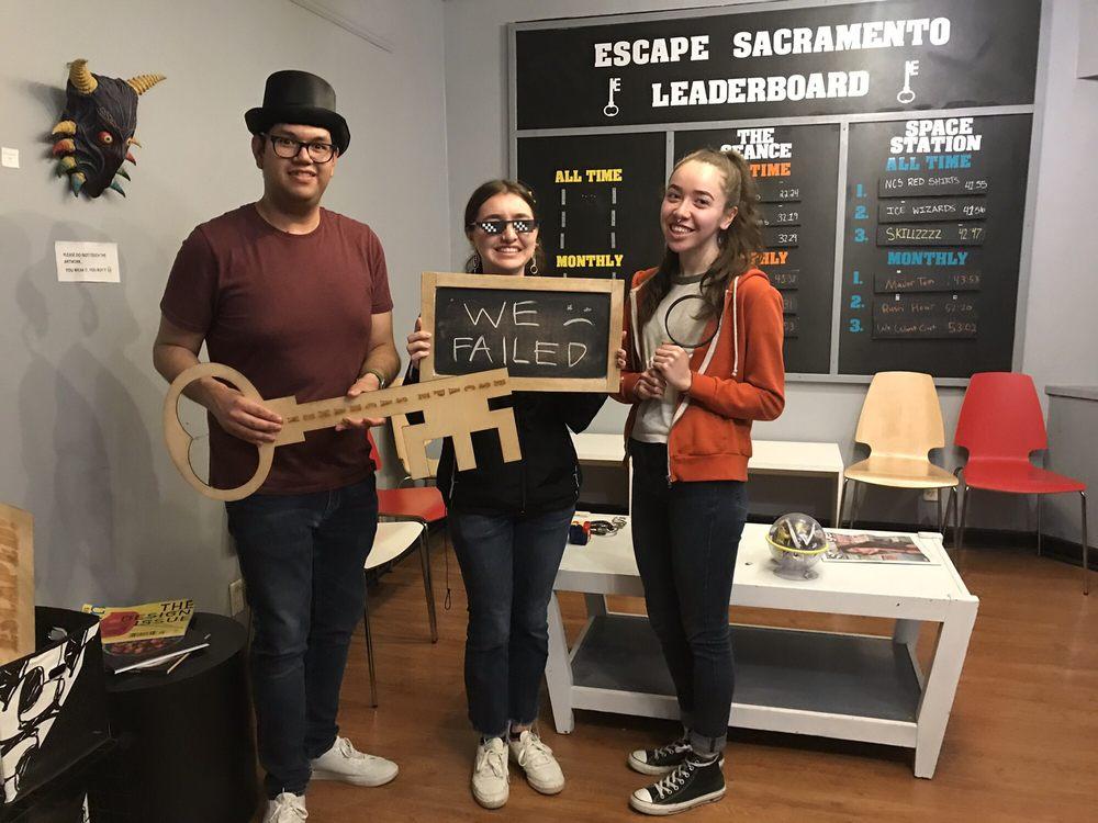 Escape Sacramento