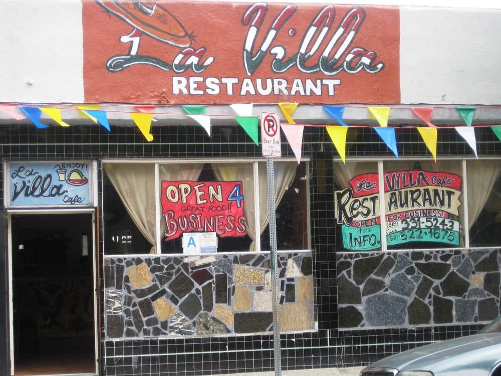 La Villa Cafe Los Angeles Ca