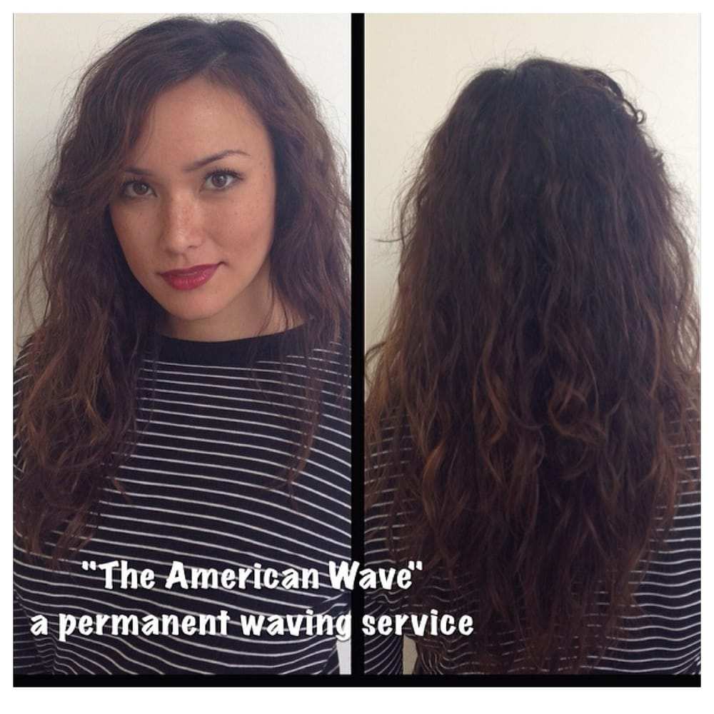 Neihule Nail Salon Los Angeles: The American Wave Perm