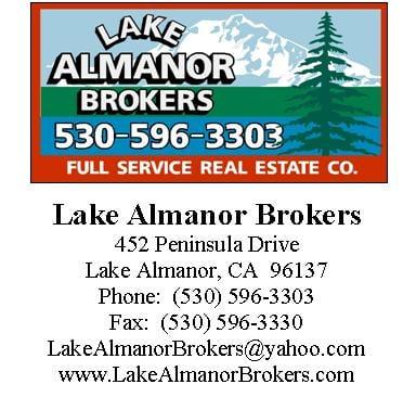 Lake Almanor Brokers: 452 Penninsula Dr, Lake Almanor, CA