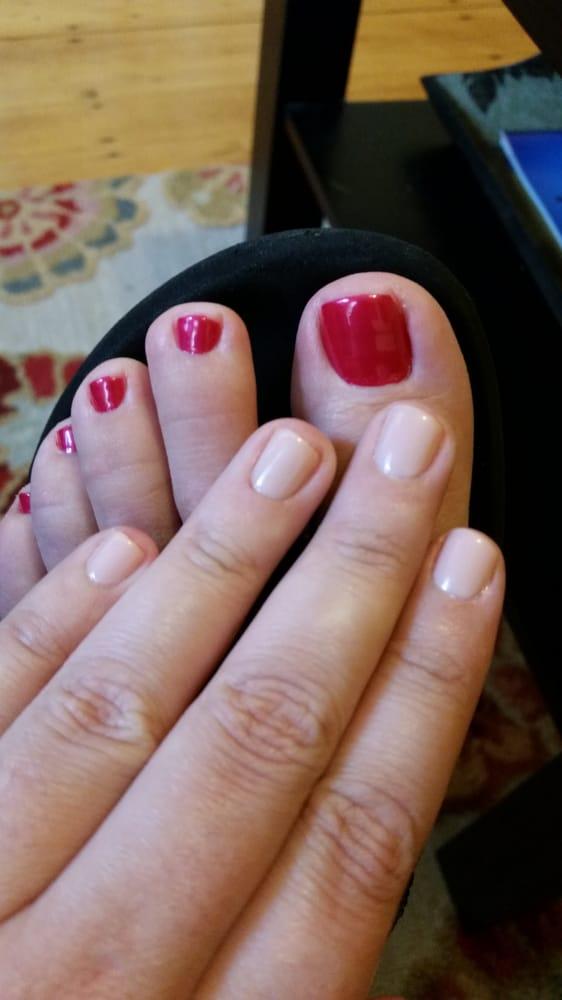 Julie s nails nail salons davis square somerville for Acton nail salon
