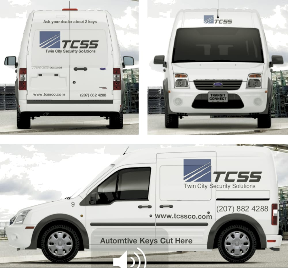 Twin City Lock & Key / Twin City Security Solutions: 524 Bath Rd, Wiscasset, ME