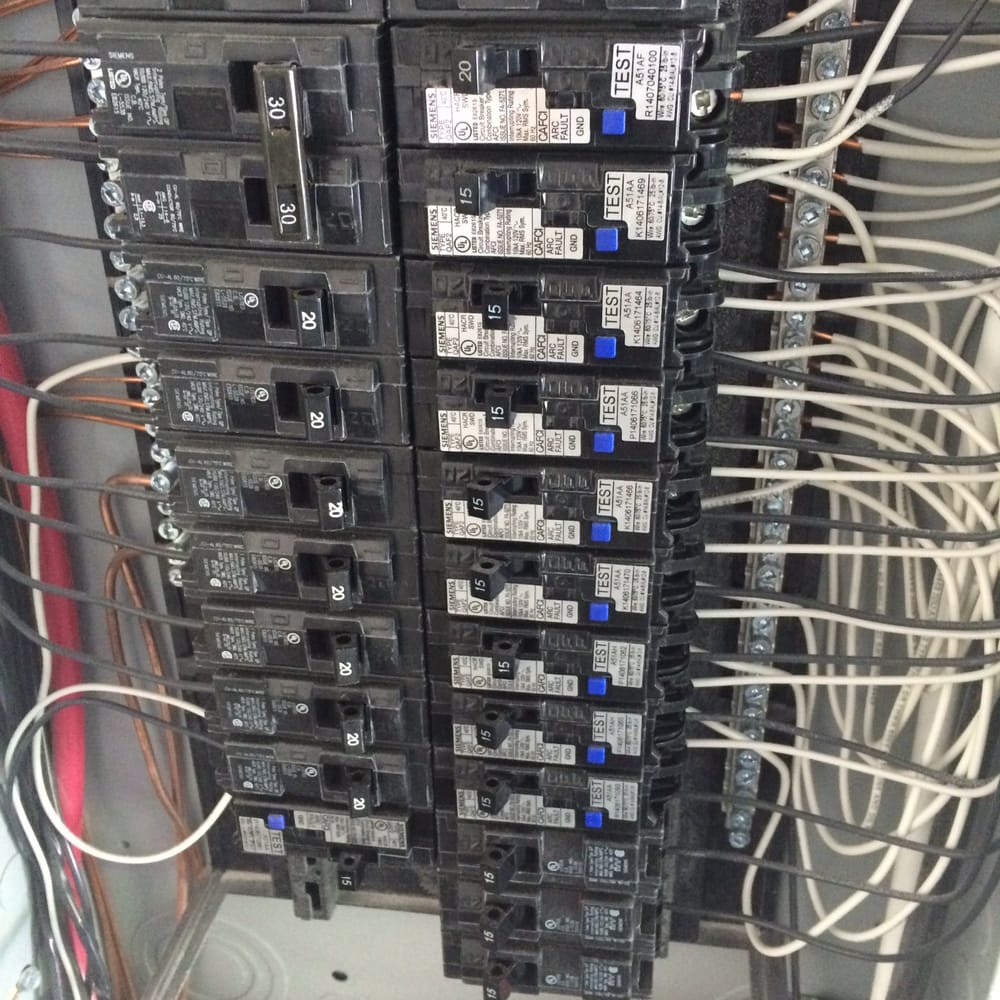 Residential Main Circuit Breaker Panel AFCI Protection - Yelp